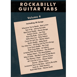 Rockabilly Guitar Tabs Vol.4